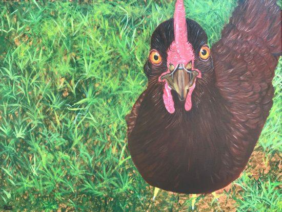 Yard Hen